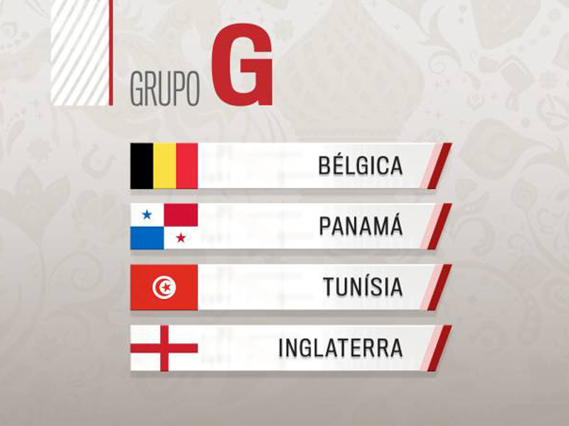 Grupo G: Geração de ouro da Bélgica terá pela frente a tradição inglesa