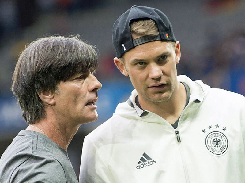 Apesar da forte concorrência, Neuer deve ser titular