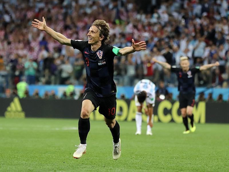 Modric o excelente jogador da Croácia e do Real Madrid