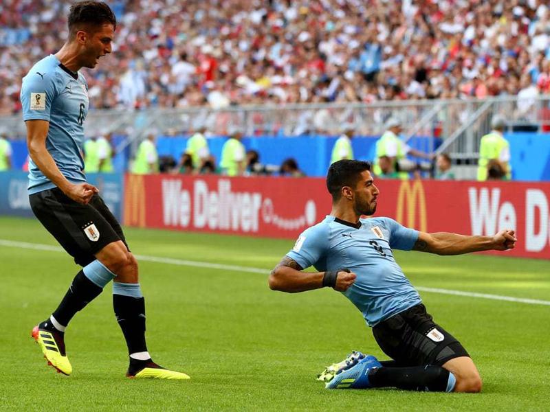 Uruguai e Rússia avançam no Grupo A; Arábia Saudita se despede com vitória sobre o Egito