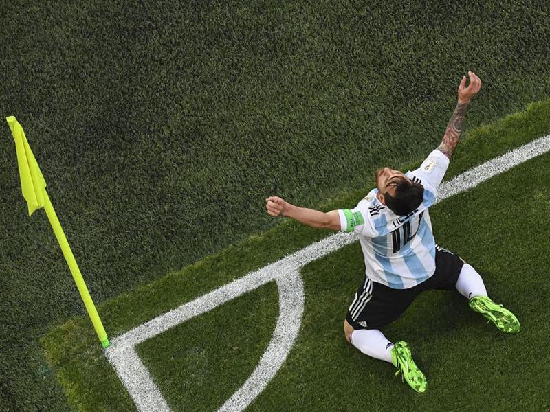 Na bacia das almas, Argentina arranca vaga diante da Nigéria e Croácia supera a Islândia