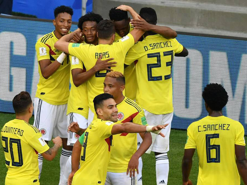 Colômbia garante a liderança e Japão fica com a segunda vaga