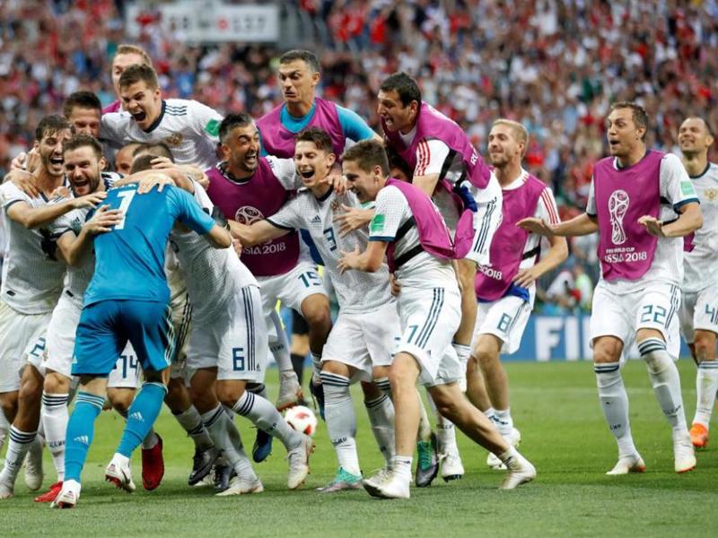 Nos pênaltis, Rússia tira a Espanha da Copa do Mundo
