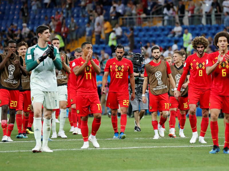 A excelente seleção belga e o seu ótimo desempenho