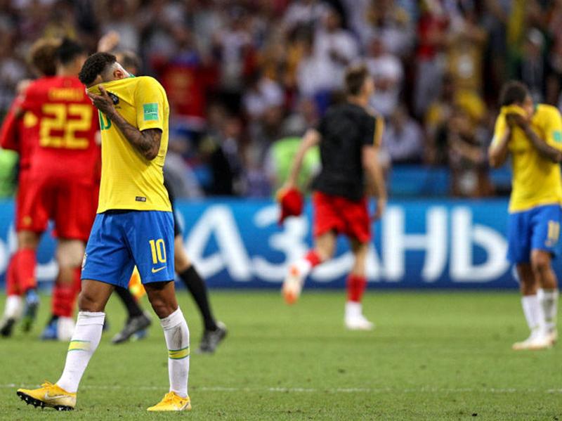 Fim do sonho: Brasil é derrotado pela Bélgica e está fora da Copa do Mundo