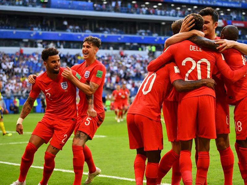 Inglaterra vence a Suécia e está de volta às semifinais após 28 anos