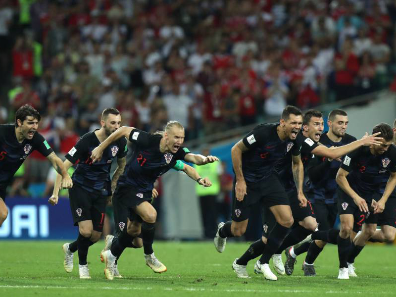 Em partida dramática, Croácia elimina a anfitriã Rússia nos pênaltis