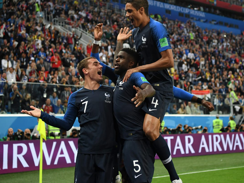 França vence a Bélgica e está na final da Copa do Mundo