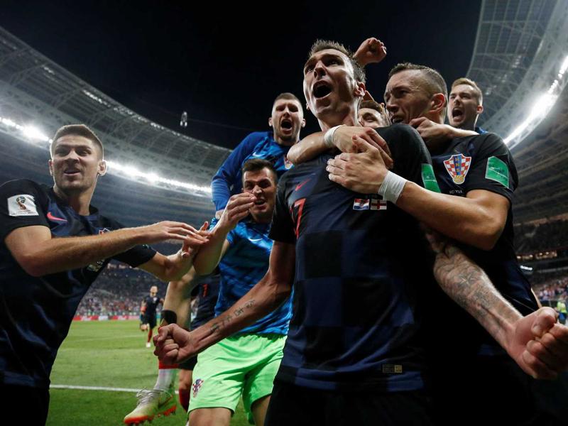 Croácia vira o jogo na prorrogação e está na final da Copa do Mundo pela 1ª vez