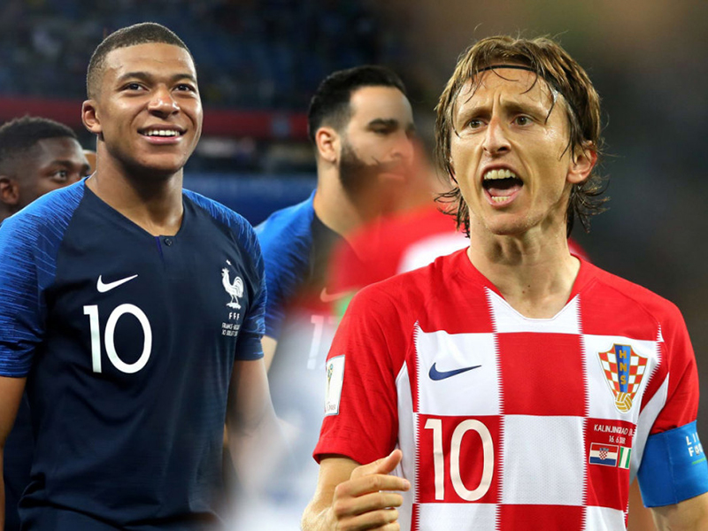 França e Croácia fazem a decisão da Copa neste domingo, em Moscou