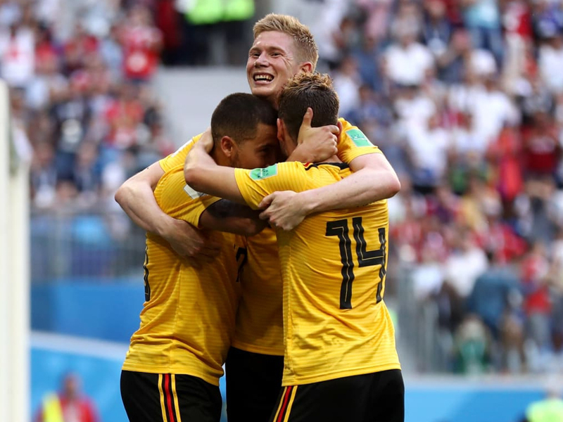 Bélgica vence a Inglaterra e conquista o terceiro lugar