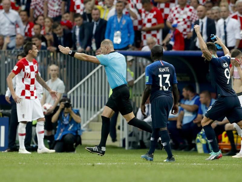 Croatas valorizam luta mas condenam arbitragem polêmica na final da Copa