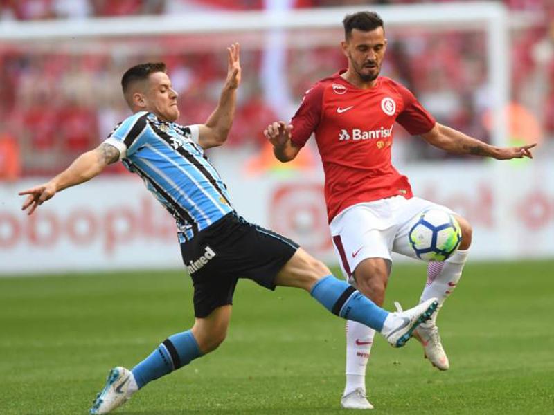 Inter vence Grêmio e mantém liderança; São Paulo e Palmeiras continuam na cola