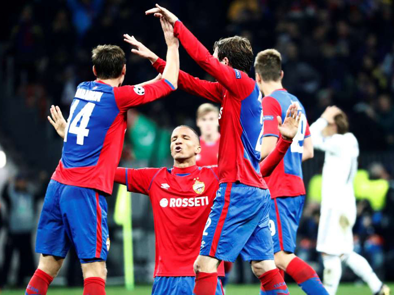 CSKA vence o Real Madrid, Juventus atropela o Young Boys