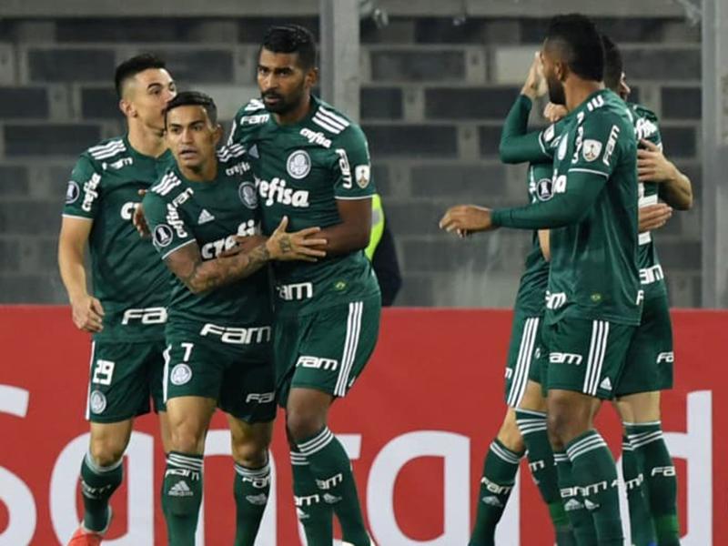 Palmeiras vence o Colo-Colo e está nas semis da Copa Libertadores