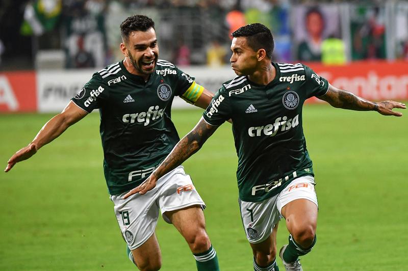 Dois times brasileiros classificados à semifinal da Libertadores