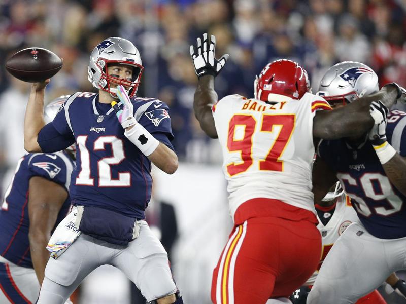 6ª semana da NFL: Brady leva a melhor sobre Mahomes em choque de gerações