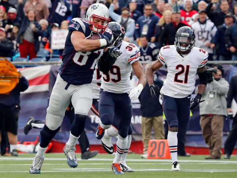 Vitória suada dos Patriots, goleada dos Chiefs e mais destaques da 7ª semana da NFL