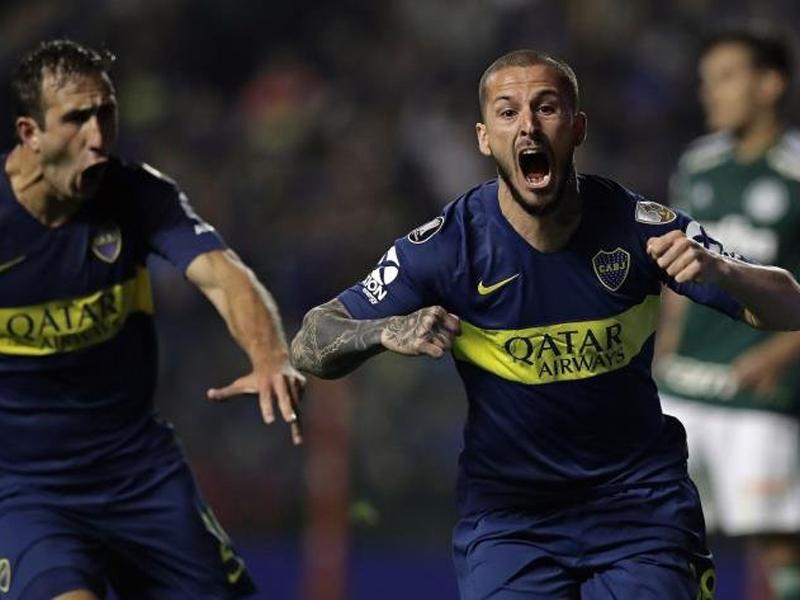 Boca Juniors faz 2 a 0 no Palmeiras e coloca um pé na final da Libertadores