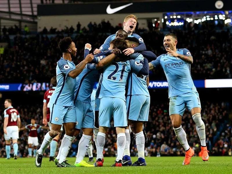 Manchester City, Barcelona e Paris Saint Germain vencem de goleada e continuam líderes