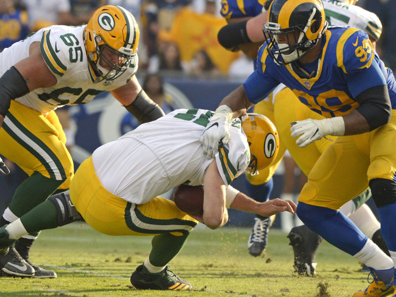 Semana #8 da NFL: Rams viram contra os Packers e mantém invencibilidade; Vinatieri quebra recorde