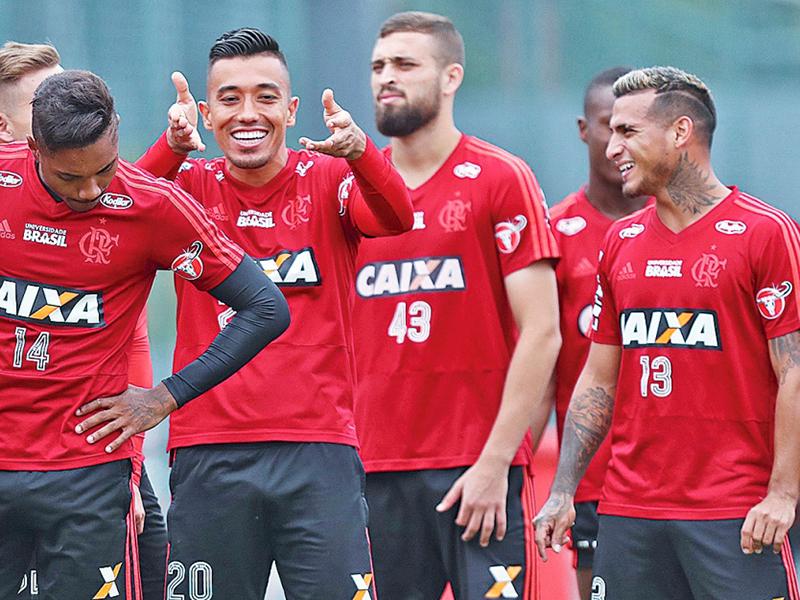 A busca do Flamengo pela liderança do Brasileirão