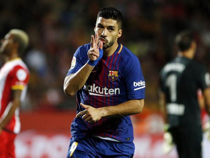A ótima fase de Luis Suárez no Barcelona