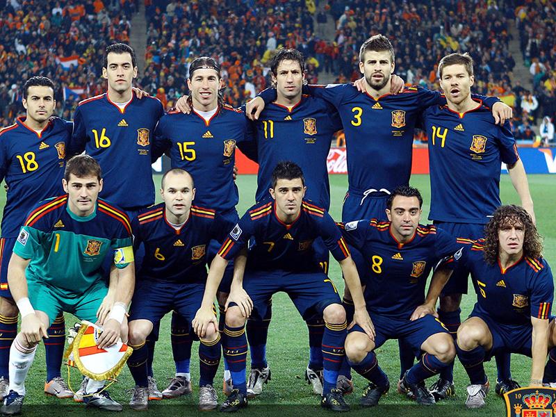 Espanha de 2008 a 2012: Uma seleção histórica
