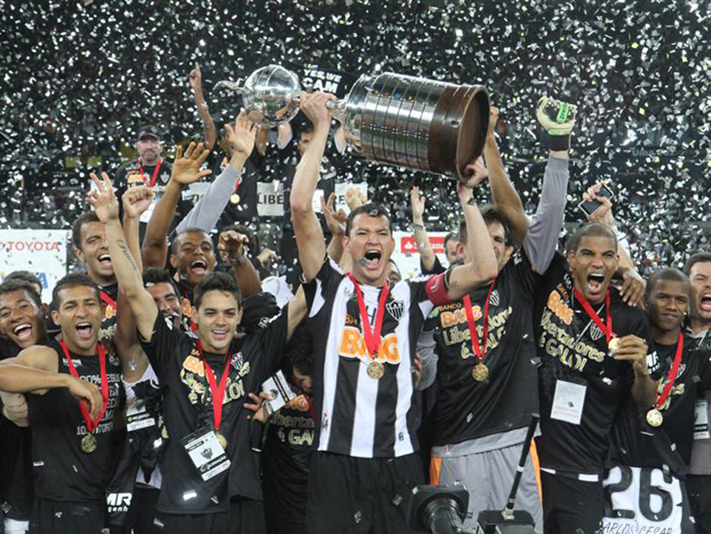A campanha do Atlético Mineiro na Libertadores em 2013