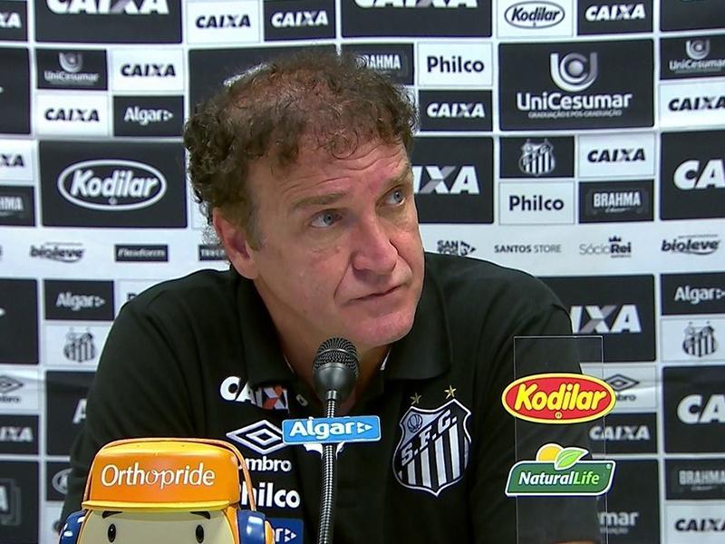 Santos passa sua pior fase com o técnico Cuca