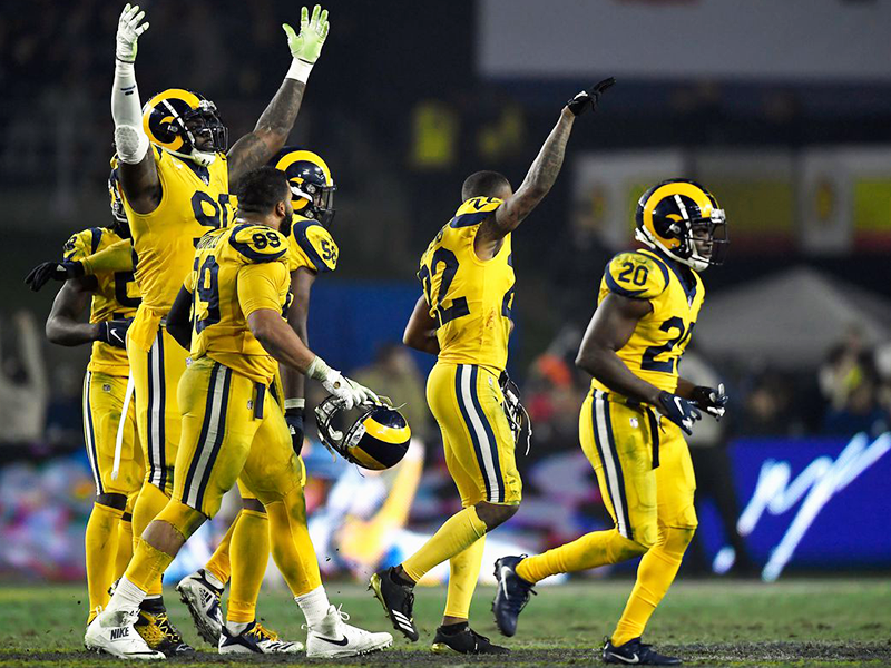 Rams e Chiefs fazem jogaço na NFL