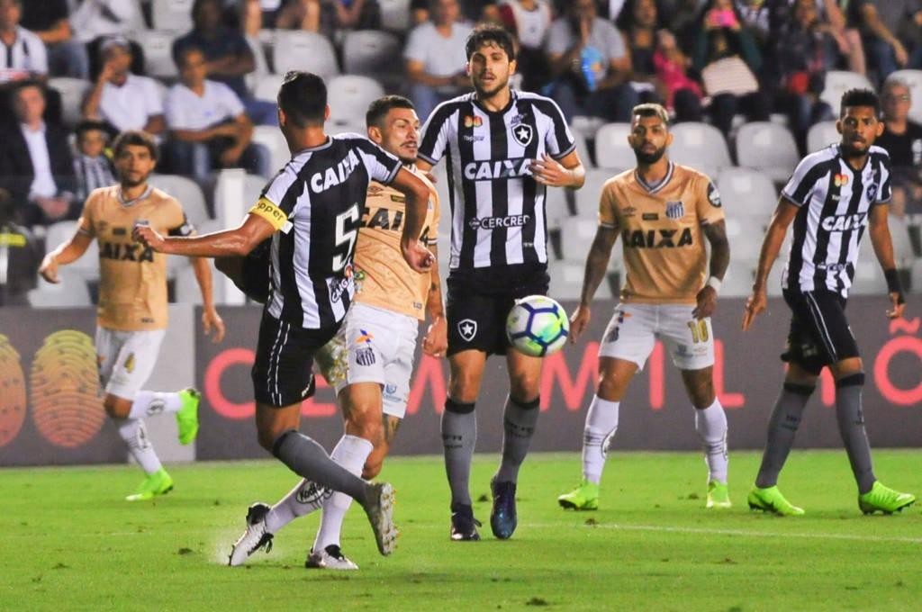 Santos e Botafogo empatam e não têm mais chances de Libertadores