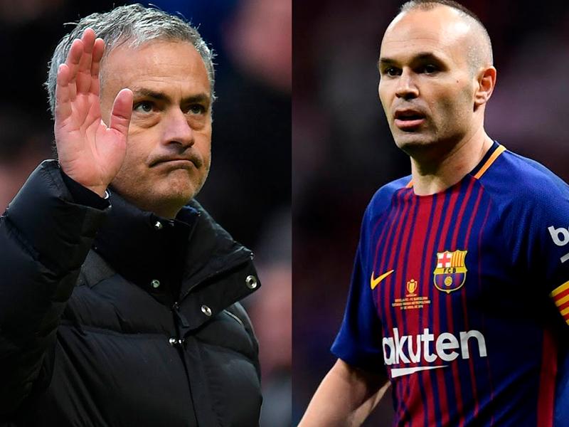 Iniesta diz que Mourinho semeava ódio na rivalidade do El Clásico