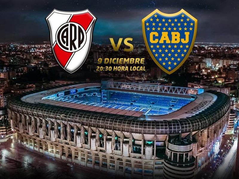 A final da Libertadores será no Santiago Bernabéu