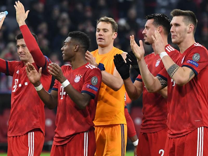 Real, Juventus, Manchester e Bayern vencem pela Champions