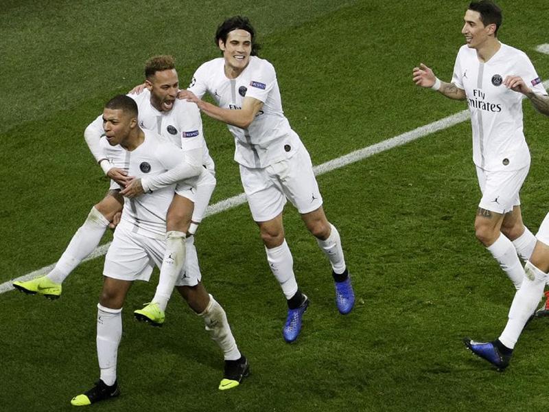 PSG encaminha classificação na Liga dos Campeões
