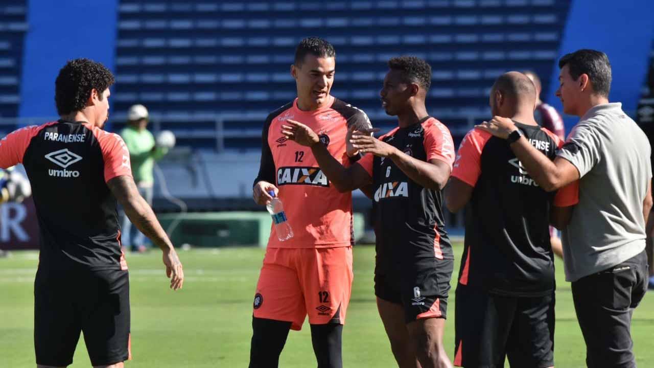Atlético-PR se prepara para a primeira final da Copa Sul-Americana