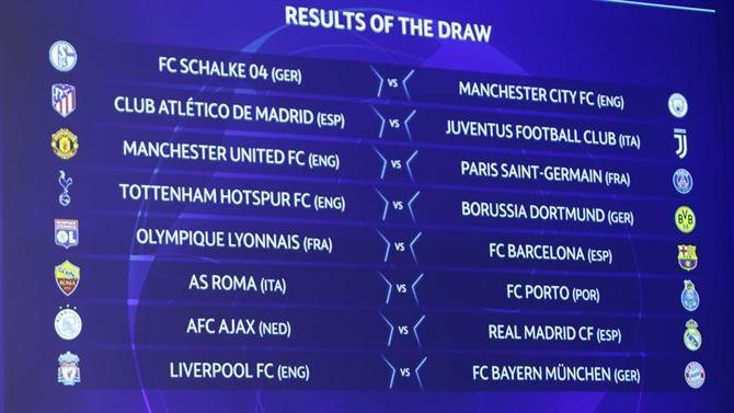 Confira as 16 equipes classificadas para as oitavas de final da Liga dos Campeões