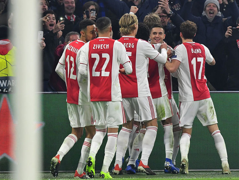 Ajax terá a dura missão de encarar o Real Madrid nas oitavas de final da Champions