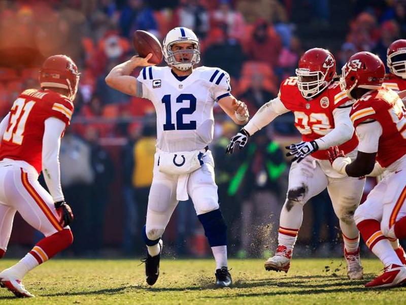 Chiefs superam os Colts e garantem vaga na final da Conferência Americana
