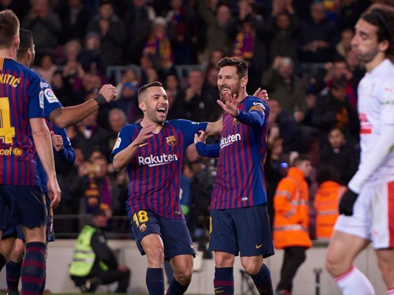 Barcelona e Real Madrid vencem no Espanhol e catalães continuam líderes