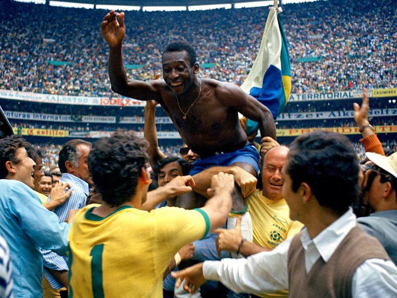 Jogos inesquecíveis, a grande final da Copa do Mundo de 1970