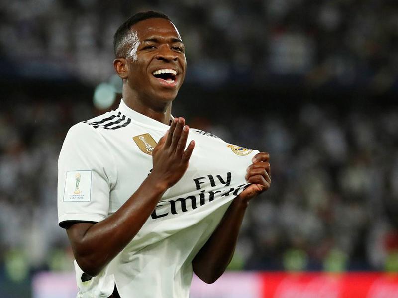 Vinicius Junior se destaca em sua primeira temporada pelo Real Madrid