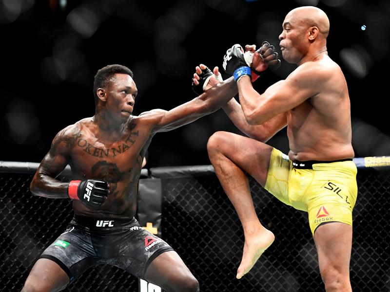 Anderson Silva luta bem, mas é superado por Israel Adesanya em Melbourne