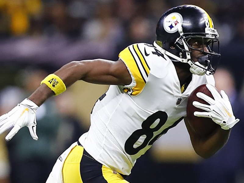 Antonio Brown está de saída dos Steelers; Browns contratam Kareem Hunt