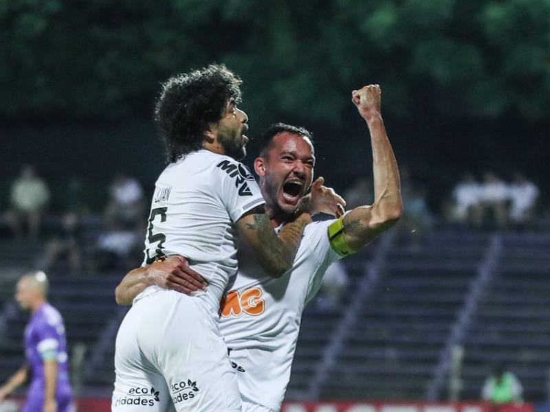 Atlético-MG faz 2 a 0 no Defensor e encaminha vaga na fase de grupos da Libertadores