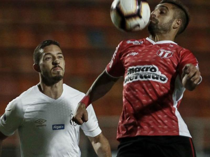 Santos amarga empate com River uruguaio e está fora da Sul-Americana