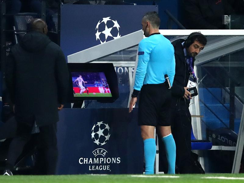 O VAR e o destino dos clubes na Liga dos Campeões