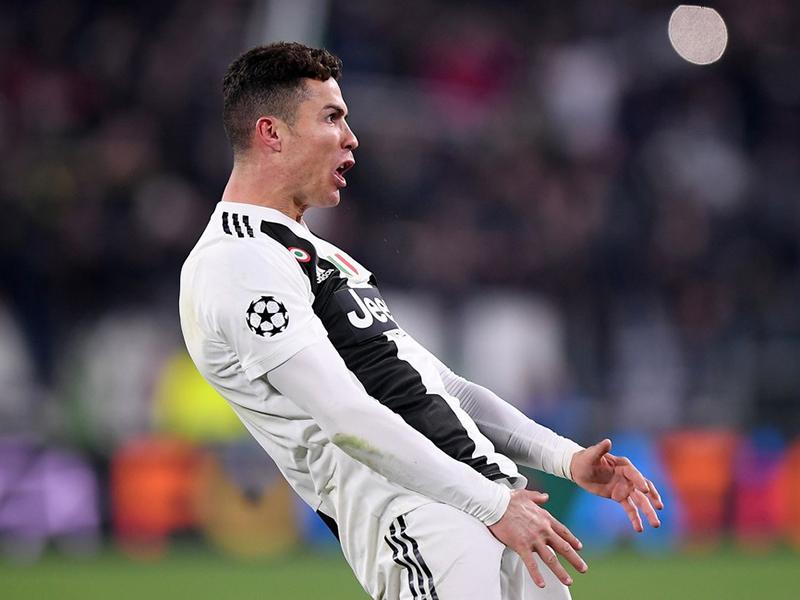 Cristiano Ronaldo, a fera