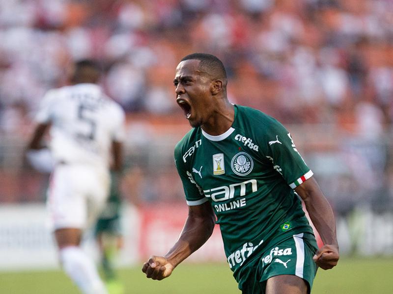 Com golaço de Carlos Eduardo, Palmeiras vence o São Paulo no Pacaembu
